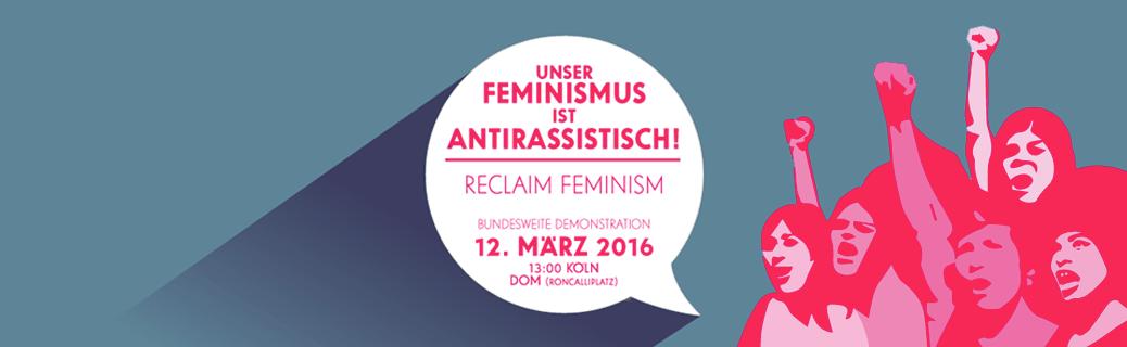 Unser Feminismus ist antirassistisch