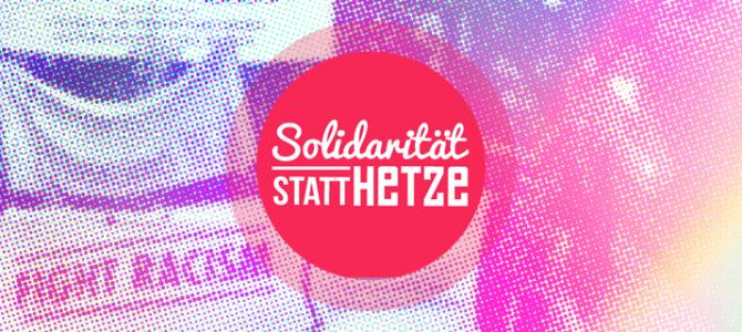 Fight AfD – Solidarität statt Hetze!